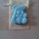 soap - teddy bear